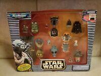 Vintage 1996 Galoob Star Wars Micro Machines Miniture Figure Heads NEW