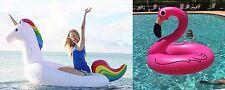 Unicorn and Pink Flamingo Pool Float-Get Bundle Discount-Aussie Floaties Stock