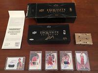 姚明 Yao Ming 2007-08 UDA UD EXQUISITE COLLECTION AUTOGRAPHED BOX 11/11 1/1 中國