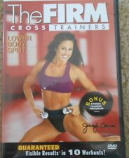 The Firm Lower Body Split Workout DVD Exercise Fitness Strength CrossTrainers