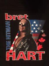 WCW Bret Hart The Hitman T Shirt XL 1998 1999 VINTAGE nWo WWF WWE RARE