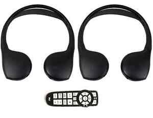 Volkswagen Routan (2008-2013) Fold-Flat Headphones and Remote Combo