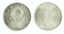 pcc1788_1) Österreich Hunagary Ungheria Florin Fiorino  1879 FERENCZ I