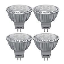 4x TOSHIBA e-core Mr16 Lámpara LED Reflector 6.5 vatios sustituido 35w