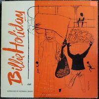 BILLIE HOLIDAY Clef Records 10in MG C-161 Orig Jazz LP GC - Vinyl DSM Artwork