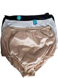 Vanity Fair Panties Perfectly Yours Full Briefs Underwear Lot Of 3 Pair 9/2XL