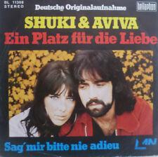 """7"""" 1974 RARE IN VG+++ ! SHUKI & AVIVA : Ein Platz für die Liebe"""