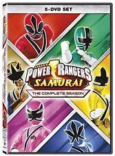 Power Rangers Samurai: The Complete Season - 5 DISC SET (2017, REGION 1 DVD New)