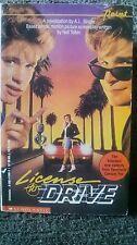 License To Drive Corey Haim Feldman movie tie in 1st Print 1988 Singer OOP Rare!