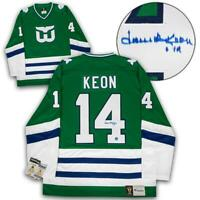 Dave Keon Hartford Whalers Autographed Last Game Fanatics® Vintage Hockey Jersey