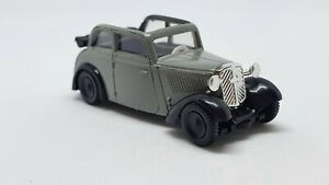 DKW F7 Cabriolet gray Brekina 1:87 HO Scale