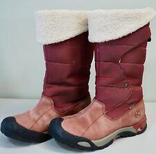 KEEN Hofn Women's Waterproof Winter Boots Size 6 - Fleece Lined Leather/Textile