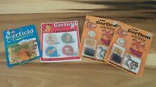 Vintage 70's Garfield Cartoon Cat Toys New NIP NOS