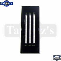 69-70 Dash Heater Vent NO A/C Temperature Fan Control Face Plate Lens