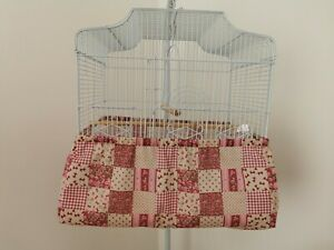 """BIRD CAGE SEED CATCHER-CAGE TIDY-BASE COVER-TO FIT 46cmx36cm / 18"""" X 14"""" CAGE"""