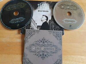 BILLY BRAGG - Mr Love & Justice (Cd x 2 2008)