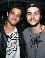 * TYLER POSEY & DYLAN O'BRIEN SIGNED POSTER PHOTO 8X10 RP AUTOGRAPHED TEEN WOLF