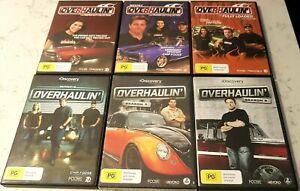 Overhaulin Collection Season's 4 - 8 (DVD, 2010+, 17-Disc Set) Region 4