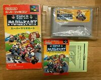 Super Mario Kart Nintendo Super Famicom SFC Japan Import SNES CIB - U.S. Seller