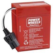 PowerWheels My Design Harley Davidson Motorcycle 75200 Replacement 6Volt Battery