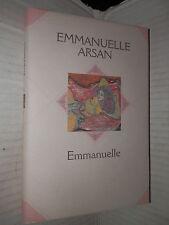 EMMANUELLE Emmanuelle Arsan Mondadori 2000 libro romanzo narrativa racconto di