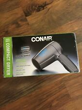 Gray Conair 124p Folding Handle Hair Dryer 1875 W 2 Heat/speed Setting