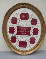 Victorian Style Oval Photo Frame By Past Times Large Gilded For 9 Photos