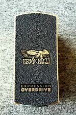 NEW ERNIE BALL EXPRESSION OVERDRIVE  PEDAL EFFECTS PEDAL. $0 US SHIP!!