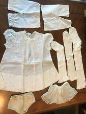 vintage pairs socks, undies, dress, slips, pantaloons ,for Dolls, lot #2