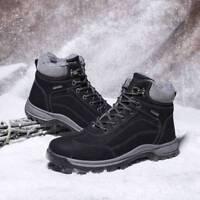 Winter Men's Shoes Snow Boots Cotton Plus velvet Warm Casual Ankle Boots