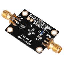 10K-2GHZ LNA broadband RF amplifier gain 26dB@1.5G FM HF VHF / UHF Ham Radio GL