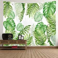 Tapestry Wall Hanging Leaves Pattern Art Tapestry For Dorm Bedspread Decoration