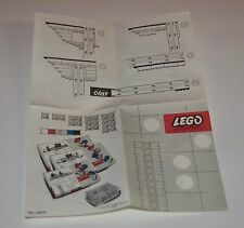 Lego Pat. Pend. Bauanleitung, only Instructions Manuel, 50-er Jahre,rar,TOP
