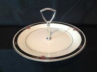 Noritake Etienne 7260 One (1) Round Serving Plate with Center Handle (Dinner)