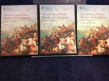 The Great Courses:  History's Great Military...Vol 1&2 by Aldrete(2015)CD180716
