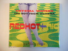 RED HOT and RIO by CRYSTAL WATERS [ FRENCH PROMO CD-MAXI PORT GRATUIT ]