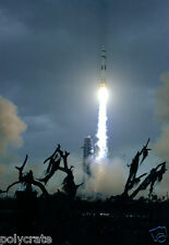 Photo Nasa - Apollo 14 Fusée Lunaire Saturne V au décollage