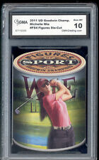 2011 Michelle Wie UD Goodwins Diecut Rookie card Gem 10