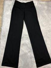 Lululemon Preowned Womens Solid Black Astro Athletic Pants Yoga Sz 4