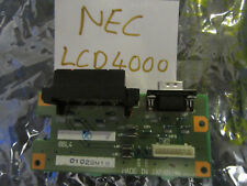 NEC LCD4000 Speaker connection board 7A250643 PWB Terminal 8BL4