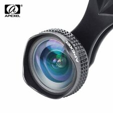 Apexel Optic Pro Lens 18MM HD Wide Angle Cell Phone Camera Lens Kit 2X More