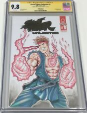 Capcom Street Fighter Unlimited #1 Foil Signed & Sketched Alex Kotkin CGC 9.8 SS