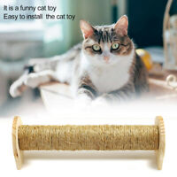 Cat Scratching Board Natural Sisal Pet Scratcher Post Home Furniture Protect