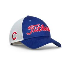 New 2017 Titleist Golf MLB Twill Mesh Hat Adjustable Chicago Cubs TH7ACMLB-CHIC