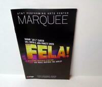 FELA Musical Marquee Playbill Dallas Winspear Adesola Osakalumi