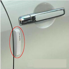 4PCS White Car Door Edge Guards Trim Molding Protection Strip Scratch Protector