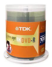 Cloche 100 DVD-R 4.7Go 16x TDK