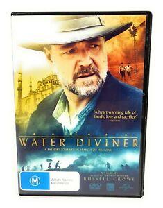 The Water Diviner (DVD 2014) Russell Crowe Region 4 Free Postage