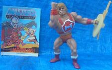 MOTU Thunder Punch He-Man + Sword Shield Comic Mattel Masters Of The Universe 84