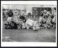 CHICAGO BEARS-BALTIMORE COLTS 12/5/65 Original 8x10 Game Photo by Fred Kaplan